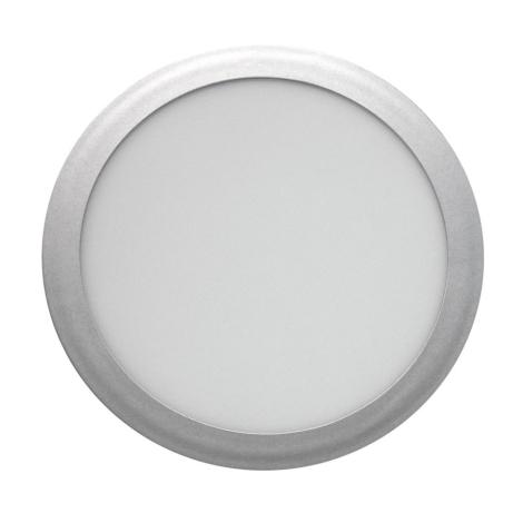 LED Podhledové svítidlo LED/18W/85V-265V stříbrná