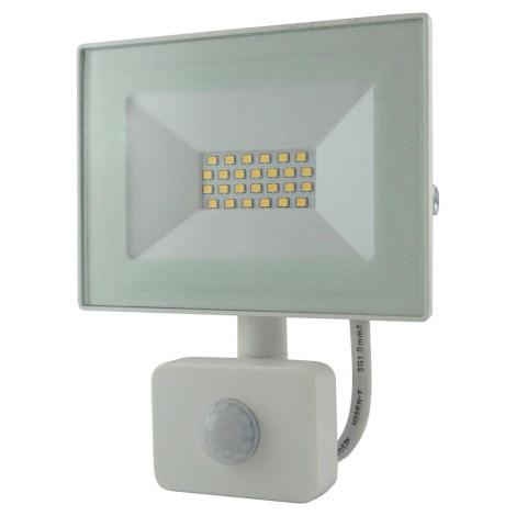 LED Reflektor se senzorem LED/20W/230V IP64 1600lm 4200K