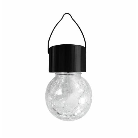 LED RGB Solární svítidlo 1,2V/1xAAA IP44 černá