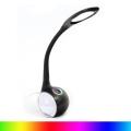 LED RGB Stmívatelná stolní  lampa LED/7W/230V černá
