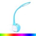 LED RGB Stmívatelná stolní  lampa LED/7W/230V modrá