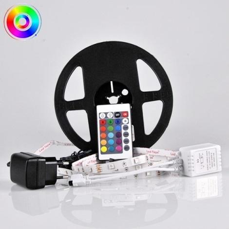LED RGB Stmívatelný pásek 5m LED/14W/12V IP20 + DO