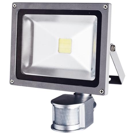 LED senzorový reflektor TOMI MCOB/20W - GXLS055 IP44