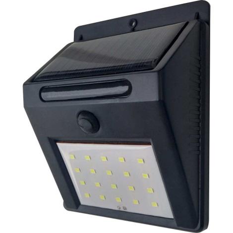 LED Solární nástěnné svítidlo LED/3W IP44