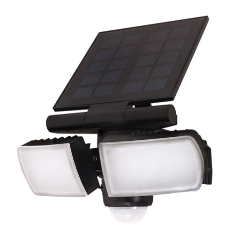 LED Solární reflektor se senzorem 2000mAh LED/8W/3,7V IP44