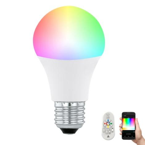 LED Stmívatelná žárovka CONNECT E27/9W + dálkové ovládání - Eglo 11585