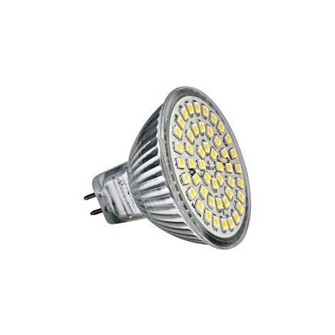 LED Stmívatelná žárovka LED48 SMD MR16/3,5W  studená bílá - GXLZ005
