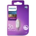LED Stmívatelná žárovka Philips G4/2W/12V 2700K