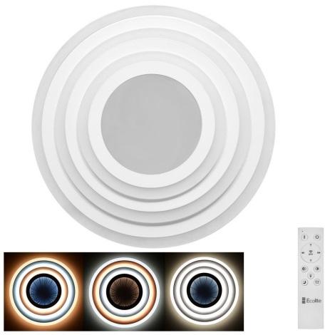 LED Stmívatelné stropní svítidlo ASTRO LED/70W/230V + dálkové ovládání