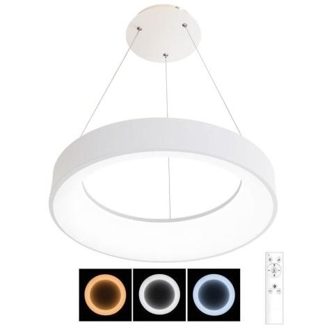 LED Stmívatelný lustr na lanku NEST LED/40W/230V 3000-6500K bílá