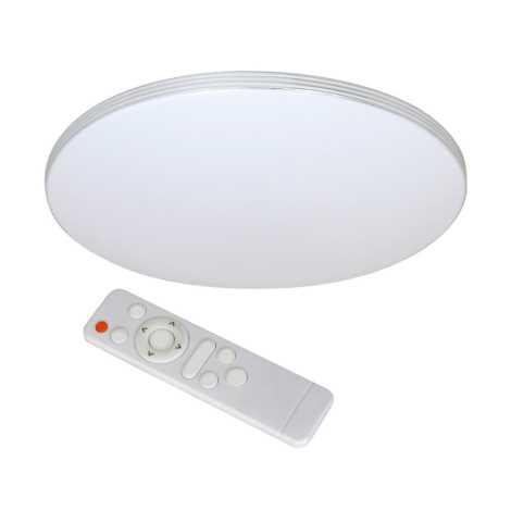 LED Stropní svítidlo s dálkovým ovladačem SIENA LED/30W/230V 350x80mm