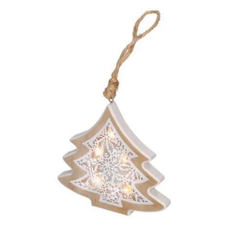 LED Vánoční dekorace 6xLED/2xAAA stromek
