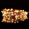 LED Vánoční řetěz 5,4 m 50xLED/3xAA 2700K
