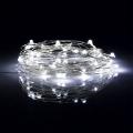 LED Vánoční řetěz 5,4 m 50xLED/3xAA 6500K