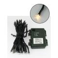 LED Vánoční venkovní řetěz 5,4 m 50xLED/3xAA 2700 K IP44