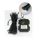 LED Vánoční venkovní řetěz 5,4 m 50xLED/3xAA barevný IP44