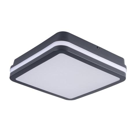 LED Venkovní stropní svítidlo BENO LED/18W/230V 4000K antracit IP54