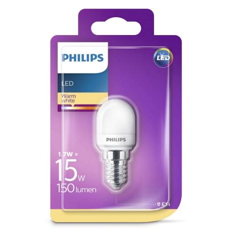 LED žárovka do lednice Philips E14/1,7W/230V 2700K