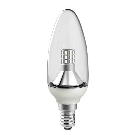 LED Žárovka E14/4W LQ CRYSTAL C37