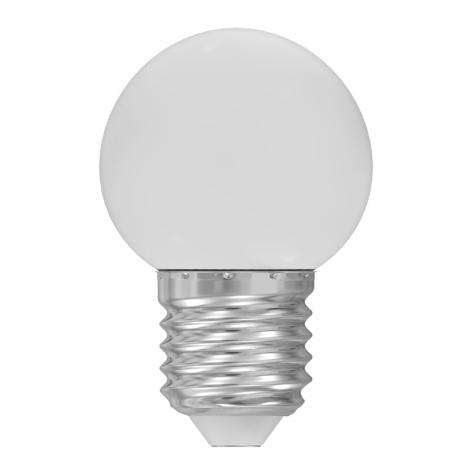 LED žárovka E27/1W/230V bílá 5500-6500K