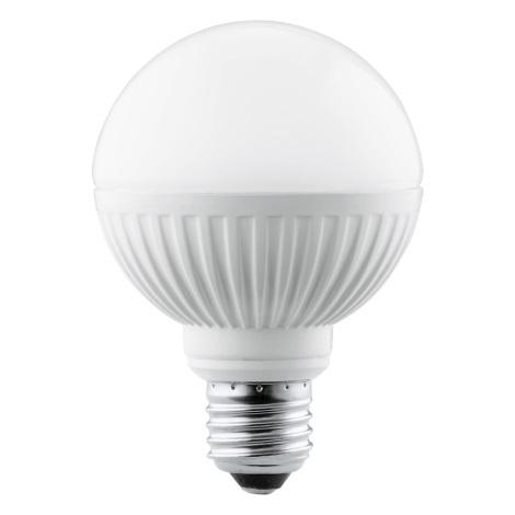 LED žárovka E27/9W 3000K GLOBE stmívatelná