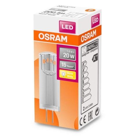 LED Žárovka G4/1,8W/12V 2700K - Osram