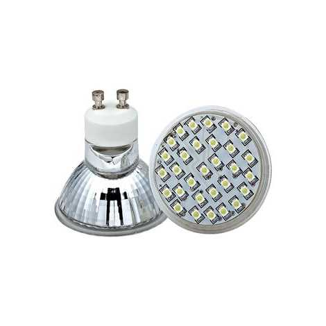 LED žárovka LED30 SMD GU10/2W  teplá bílá - GXLZ004