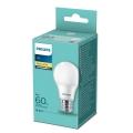 LED Žárovka Philips A60 E27/8W/230V 2700K