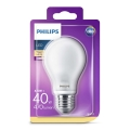 LED Žárovka Philips E27/4,5W/230V 2700K