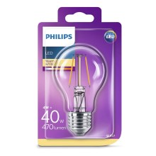 LED žárovka Philips E27/4W/230V 2700K
