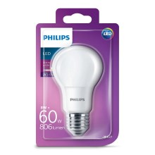 LED žárovka Philips E27/8W/230V