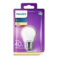 LED Žárovka Philips P45 E27/4,3W/230V 3000K