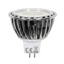 LED Žárovka PREMIUM GU5,3/MR16/5W/12V 2700 -3200 K