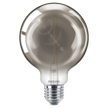 LED Žárovka SMOKY VINTAGE Philips Eye Comfort G93 E27/2,3W/230V 2700K