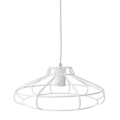 LEDKO 00472 - Závěsné svítidlo 1xE27/40W/230V 330 mm bílé