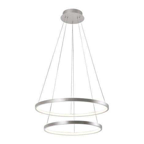 Leuchten Direkt 11525-21 - LED Lustr na lanku CIRCLE 1xLED/15W/230V + LED/25W