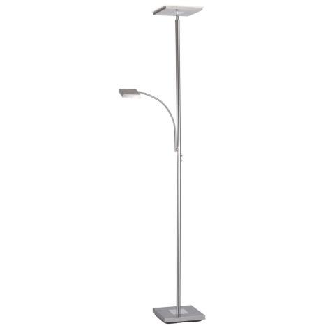 Leuchten Direkt 11710-55 - LED Stmívatelná stojací lampa HANS LED/22W/230V + LED/4W