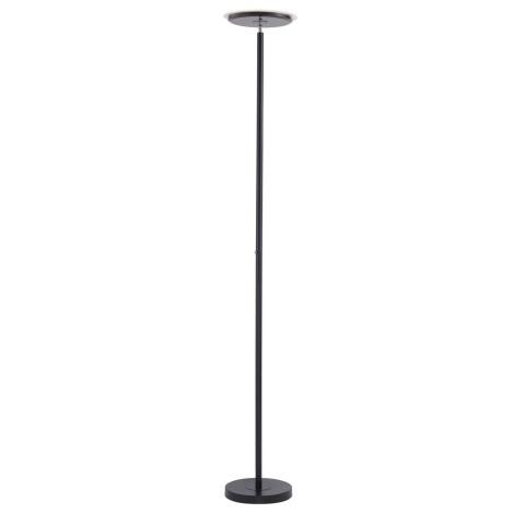 Leuchten Direkt 11729-18 - LED Stmívatelná stojací lampa HANS LED/22W/230V