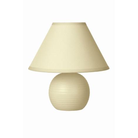 Lucide 14550/81/38 - Stolní lampa KADDY 1xE14/40W/230V béžová