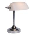 Lucide 17504/01/11 - Stolní lampa BANKER 1xE14/ESL 11W/230V