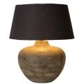 Lucide 47505/81/97 - Stolní lampa RAMSES 1xE27/60W/230V hnědá patina