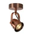 Lucide 77974/05/17 - LED Bodové svítidlo CIGAL 1xGU10/5W/230V měděná