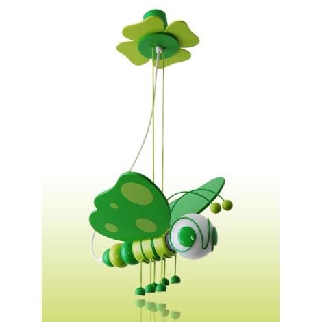 Lustr MOTÝL zelená