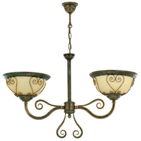 Lustr VERDA VE/2/G 2xE27/60W bronz