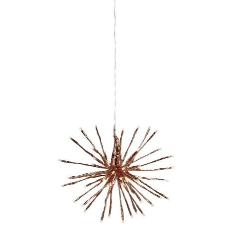 Markslöjd 703930 - LED Vánoční dekorace HYDRA 80xLED/2,4W/230/24V IP44 30 cm