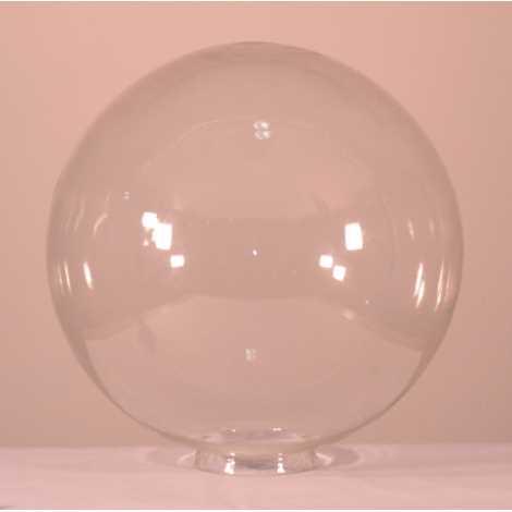 Náhradní sklo koule 400/120  průhledná