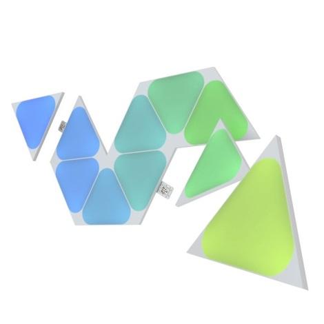 Nanoleaf -  Rozšiřovací SADA 10x LED RGB Stmívatelný panel TRIANGLES LED/0,5W/230V