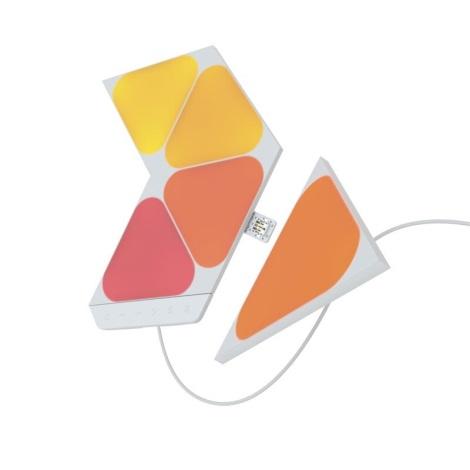 Nanoleaf - SADA 5x LED RGB Stmívatelný panel TRIANGLES LED/0,5W/230V