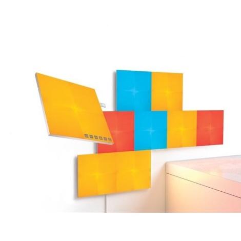 Nanoleaf - SADA 9x LED RGB Stmívatelný panel CANVAS LED/1W/230V