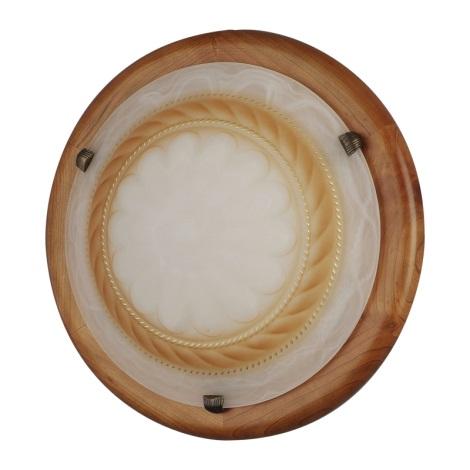 Nástěnné stropní svítidlo RODOS - KL129 360mm třešňové dřevo